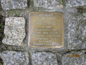 Stolperstein Albrecht Marienfeld